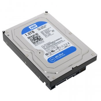Жесткий диск Western Digital 1ТБ 3.5'' 5400об/мин 64МБ SATAIII (WD10EZRZ)