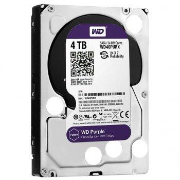 """Жорсткий диск 3.5"""" 4TB WD (WD40PURZ)"""