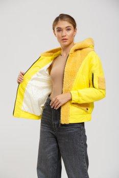 Куртка - дубленка TONY GRAZZA Желтый (20-00423)