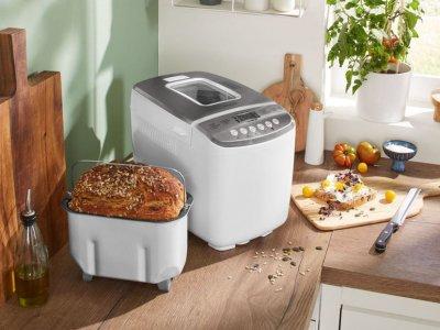 Автоматична хлібопічка SilverCrest SBB850 F2 Білий (01520)