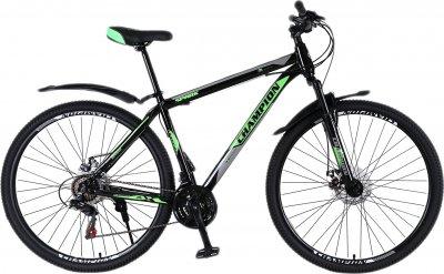 "Велосипед Champion Spark 27.5"" 17"" Black-green-white (27ChWS21-003243)"