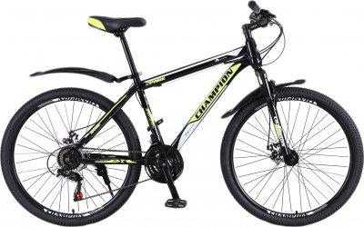 "Велосипед Champion Spark 29"" 19.5"" Black-neon yellow-white (29ChWS21-003251)"