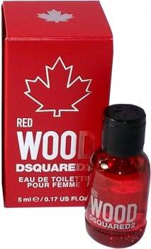 Миниатюра Туалетная вода для женщин Dsquared2 Red Wood Pour Femme 5 мл (8011003852819)