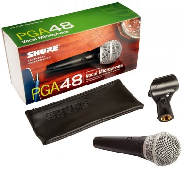 Мікрофон вокальний Shure PGA48-LC