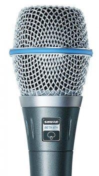 Мікрофон вокальний Shure Beta 87A