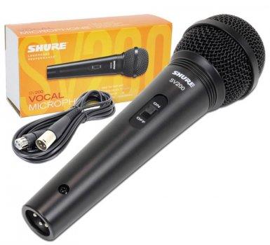 Мікрофон вокальний Shure SV200-W
