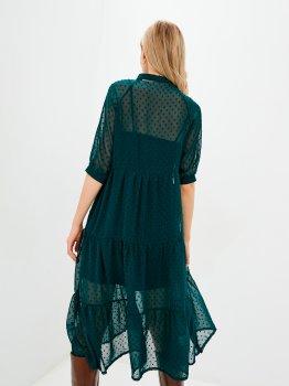 Плаття LiLove 036-6 Бірюзове