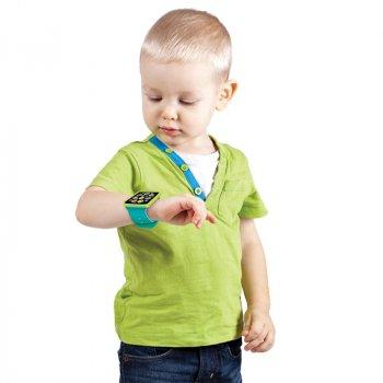 Часики Азбукварик музыкальные с синим браслетом 4,2 х 22 х 1,7 см (4630014080659)