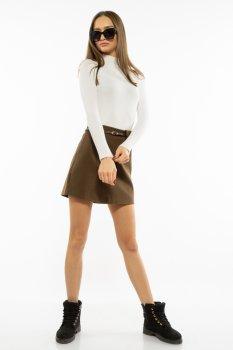 Спідниця з імітацією кишені Time of Style 207P919 Хакі