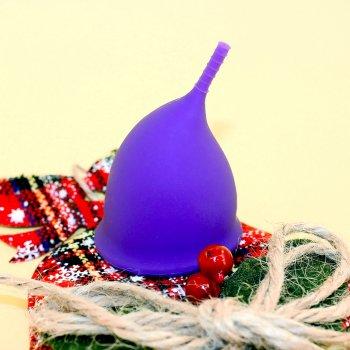 Менструальная чаша AEIOU Size 2 и стаканчик для стерилизации