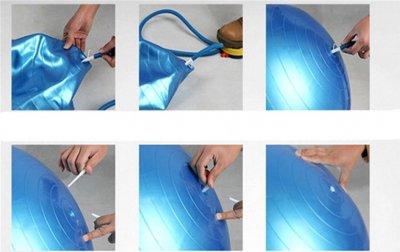 М'яч для фітнесу Newt 75 см Синій (487-626-2-B)