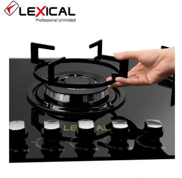Газовая плита Lexical LGS-2805 настольная на 5 конфорок