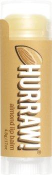 Бальзам для губ Hurraw! Almond Lip Balm Миндаль 4.8 г (851228005007)