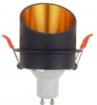 Точковий світильник Brille HDL-DS 179 MR16 BK/G (36-378)