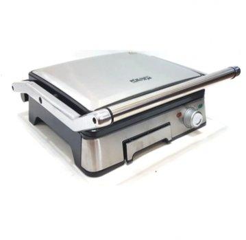 Електричний гриль DSP KB1045 з контролем температури, знімними пластинами 1800 Вт,