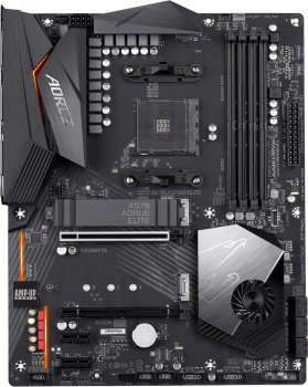 Материнська плата Gigabyte X570 Aorus Elite (sAM4, AMD X570, PCI-Ex16), RMA