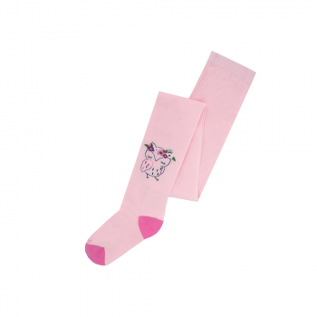 Дитячі колготи Duna для дівчинки рожеві 134-140 44104