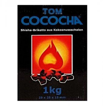 Вугілля Tom Cococha Blue 1 кг в індивідуальній упаковці