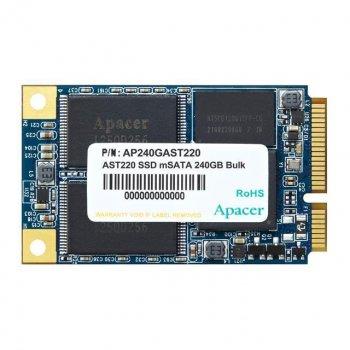 Твердотельный накопитель SSD Apacer mSATA 240GB 3D TLC (JN63AP240GAST220-1)