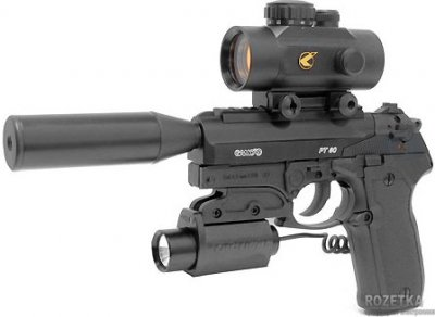 Пневматичний пістолет Gamo PT-80 Tactical (6111354)