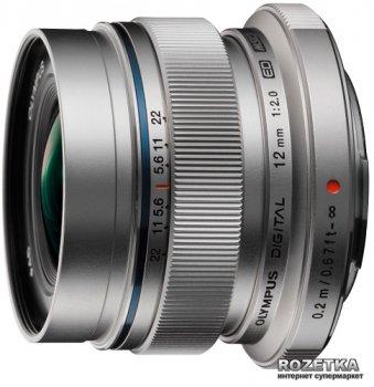 Olympus M.Zuiko Digital ED EW-M1220 12mm 1:2.0 Silver (V311020SE000)