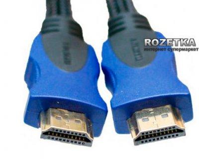 Кабель ExtraDigital HDMI to HDMI Double ferrites Blister 7m v1.4b (KD00AS1512)