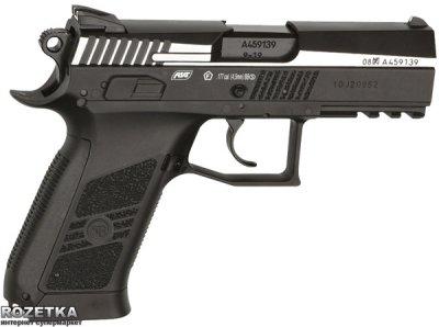 Пневматичний пістолет ASG CZ 75 P-07 Blowback DT (23702518)