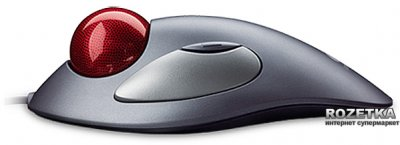 Миша Logitech TrackMan Marble USB + PS/2 Grey (910-000808)