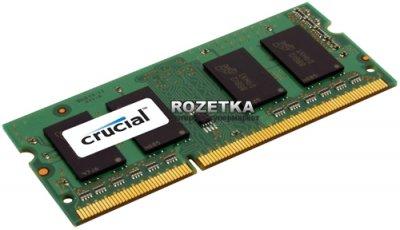 Оперативна пам'ять Crucial Micron SODIMM DDR3L-1600 4096MB PC3-12800 (CT51264BF160B)