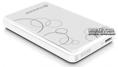 Жорсткий диск Transcend StoreJet 25A3 1TB TS1TSJ25A3W 2.5 USB 3.0 External White