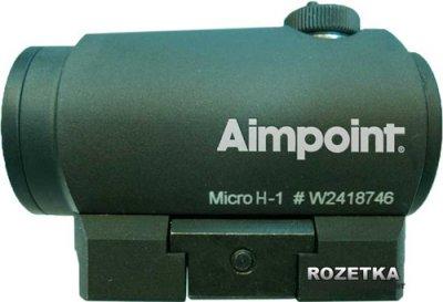 Коліматорний приціл Aimpoint Micro H-1 2МОА Weaver (15920010)