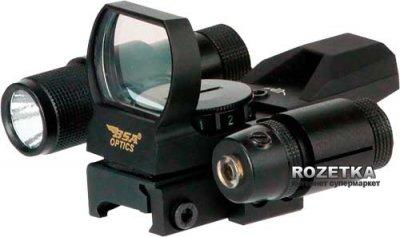 Коліматорний приціл BSA Panoramic PMRGSLL + ліхтар і ЛЦВ (21920210)