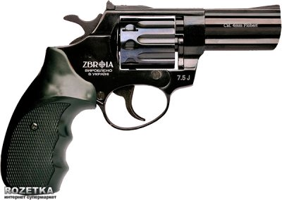 Револьвер Zbroia Profi 3 20321 чорний/пластик (Z20.7.1.006)