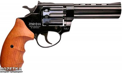 "Револьвер Zbroia Profi 4.5"" (чорний/бук)"
