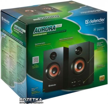Акустична система Defender Aurora S20 Black (65419)