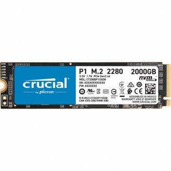 Накопичувач SSD M. 2 2280 2TB MICRON (CT2000P1SSD8)