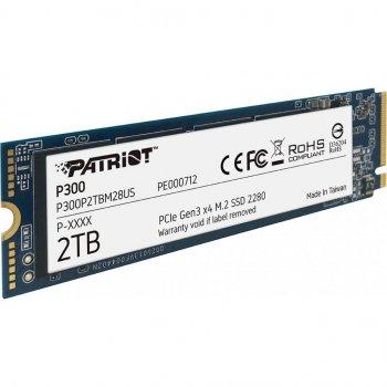 Накопичувач SSD M. 2 2280 2TB Patriot (P300P2TBM28)