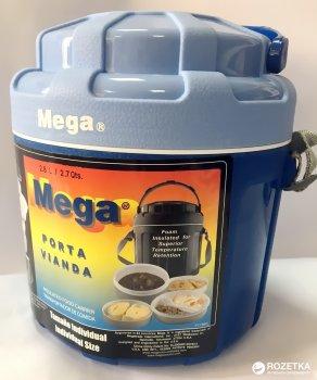 Ізотермічний контейнер Mega 2.6 л Blue (0717040954278)