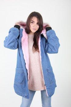 Куртка женская LadiesFashion 802 (Розовый )