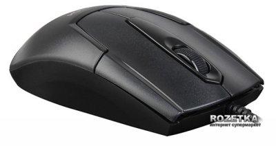 Миша A4Tech N-301 USB Black (4711421902427)