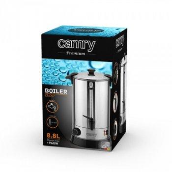 Термопот чайник-термос 8.8 л електричний Camry CR 1267 з нержавіючої сталі 950Вт