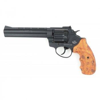 Револьвер під патрон Флобера Stalker 4мм 2,5 коричнева рукоять