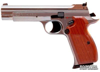 Пневматичний пістолет SAS P 210 Silver Blowback (23701435)