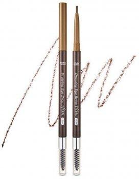 Тонкий олівець для брів Etude House Drawing Slim Eyebrow 1.5 мм №2 Natural Brown 0.05 г (8806199476822)