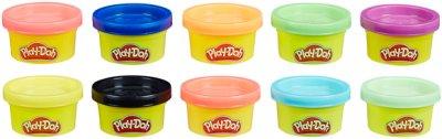 Набір пластиліну для ліплення з 10 баночок у блістері Play-Doh (22037)