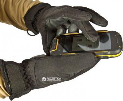 Перчатки демисезонные влагозащитные полевые P1G-Tac Cyclone Field Gloves CFG G92216BK-L Black (2000980363391)