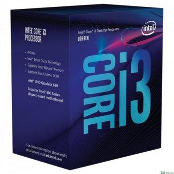 Процесор CPU Core i3-8300 Quad-Core 3,70 Ghz/8Mb/s1151/14nm/65W Coffee Lake-S (BX80684I38300) s1151 BOX