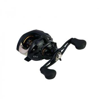 Катушка мультипликаторная для спиннинга Reelsking GBS 201 Black Left