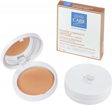 Компактная пудра Eye Care линия Face Complexion Матирование и выравнивание цвета кожи бежевый 10 г (3532663000037)