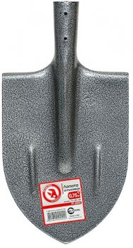 Лопата штыковая Intertool 0.75 кг (FT-2002)